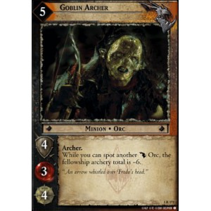 The Lord of the Rings - The Fellowship of the Ring - Goblin Archer - 1R172