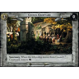 The Lord of the Rings - The Fellowship of the Ring - Council Courtyard - 1C337