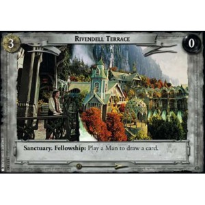 The Lord of the Rings - The Fellowship of the Ring - Rivendell Terrace - 1U340