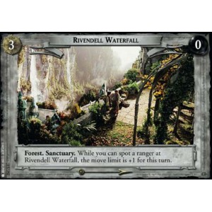 The Lord of the Rings - The Fellowship of the Ring - Rivendell Waterfall - 1U342