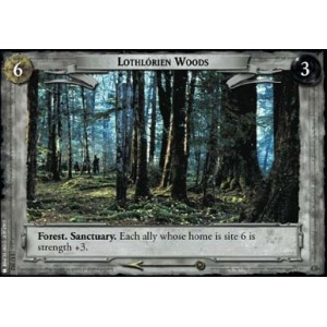 The Lord of the Rings - The Fellowship of the Ring - Lothlorien Woods - 1U352