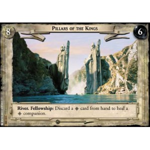 The Lord of the Rings - The Fellowship of the Ring - Pillars of the Kings - 1U358