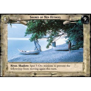 The Lord of the Rings - The Fellowship of the Ring - Shores of Nen Hithoel - 1U359