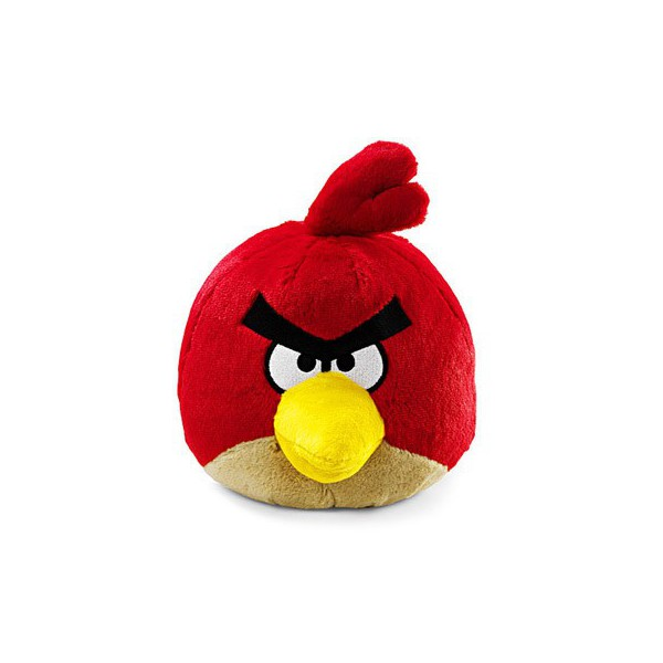 Angry birds peluche sonore rouge peluche jouets et 40 jeu vid o angry birds - Angry birds rouge ...