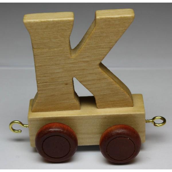 jouet en bois petit train de lettres lettre k jouet en bois jouets et. Black Bedroom Furniture Sets. Home Design Ideas