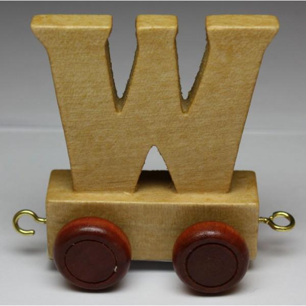 jouet en bois petit train de lettres lettre w jouet en bois jouets et. Black Bedroom Furniture Sets. Home Design Ideas