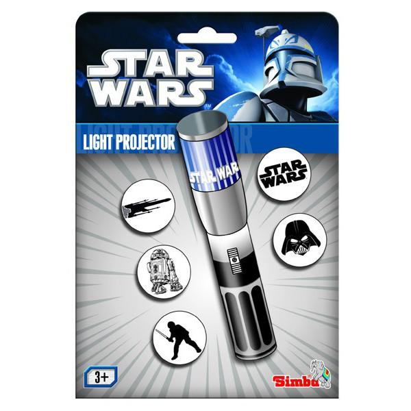 star wars lampe projecteur sky bleue luke skywalker article de bureau et de cuisine jouets. Black Bedroom Furniture Sets. Home Design Ideas