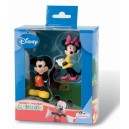 Disney figurines Mickey et Minnie