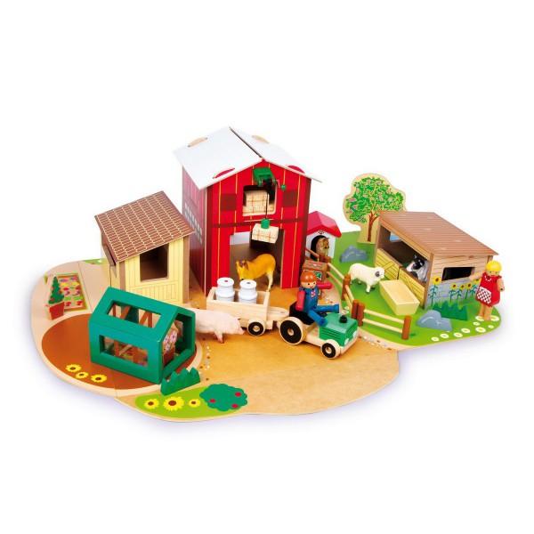 jouet en bois ferme jouet en bois jouets et. Black Bedroom Furniture Sets. Home Design Ideas