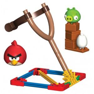 Angry Birds - Jeu de construction Red Bird vs. Small Minion Pig