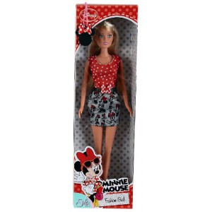 Steffi Love - Poupée Minnie Mouse Fashion Girl - Ceinture