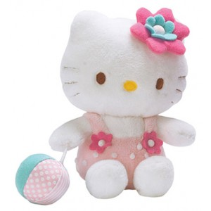 Hello Kitty - Peluche balle 14 cm