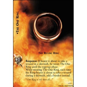 The Lord of the Rings - The Fellowship of the Ring - The One Ring, The Ruling Ring - 1C2