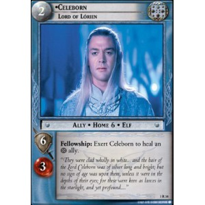 The Lord of the Rings - The Fellowship of the Ring - Celeborn, Lord of Lorien - 1R34