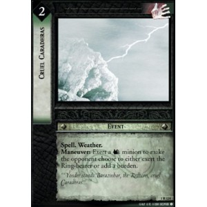 The Lord of the Rings - The Fellowship of the Ring - Cruel Caradhras - 1R124