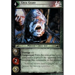 The Lord of the Rings - The Fellowship of the Ring - Uruk Guard - 1R147