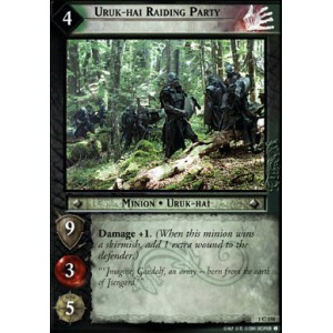 The Lord of the Rings - The Fellowship of the Ring - Uruk-hai Raiding Party - 1C158