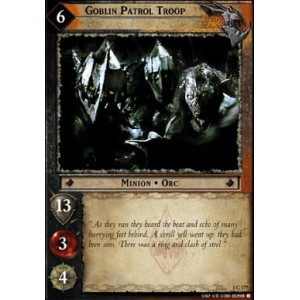 The Lord of the Rings - The Fellowship of the Ring - Goblin Patrol Troop - 1C177