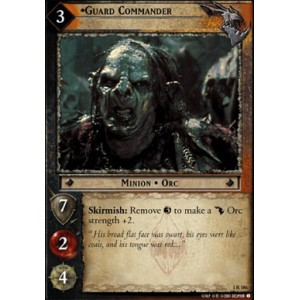 The Lord of the Rings - The Fellowship of the Ring - Guard Commander - 1R186