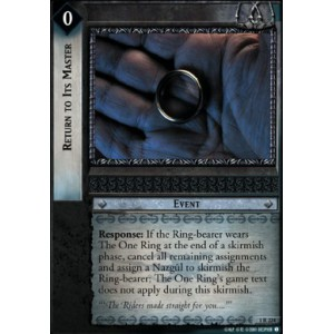 The Lord of the Rings - The Fellowship of the Ring - Return to Its Master - 1R224