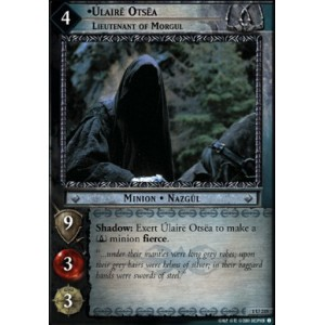 The Lord of the Rings - The Fellowship of the Ring - Úlairë Ostëa, Lieutenant of Morgul - 1U235