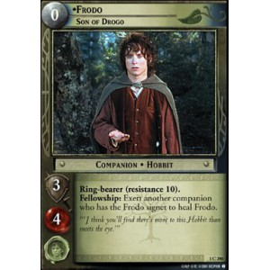 The Lord of the Rings - The Fellowship of the Ring - Frodo, Son of Drogo - 1C290