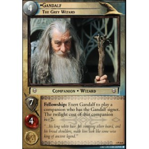 The Lord of the Rings - The Fellowship of the Ring - Gandalf, The Grey Wizard - 1P364