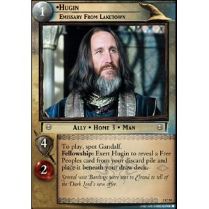 The Lord of the Rings - Mines of Moria - Hugin, Emissary from Laketown - 2C24