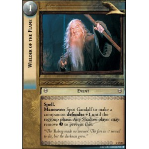 The Lord of the Rings - Mines of Moria - Wielder of the Flame - 2U28