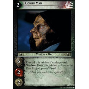 The Lord of the Rings - Mines of Moria - Goblin Man - 2C42