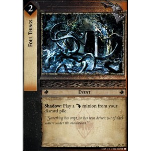 The Lord of the Rings - Mines of Moria - Foul Things - 2U59