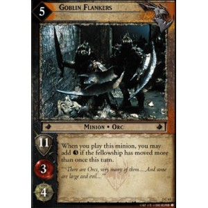 The Lord of the Rings - Mines of Moria - Goblin Flankers - 2C61