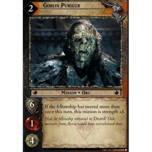 The Lord of the Rings - Mines of Moria - Goblin Pursuer - 2C62