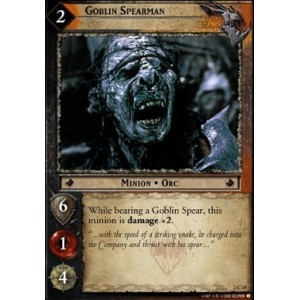 The Lord of the Rings - Mines of Moria - Goblin Spearman - 2C65