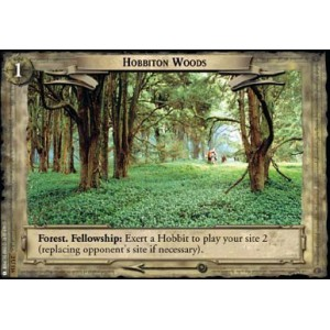 The Lord of the Rings - Mines of Moria - Hobbiton Woods - 2U116
