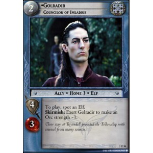 The Lord of the Rings - Realms of the Elf-lords - Golradir, Councilor of Imladris - 3U20