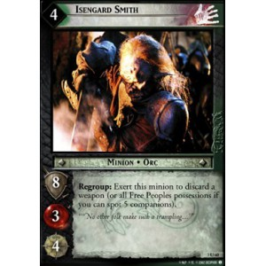 The Lord of the Rings - Realms of the Elf-lords - Isengard Smith - 3U60