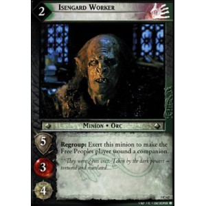 The Lord of the Rings - Realms of the Elf-lords - Isengard Worker - 3C62