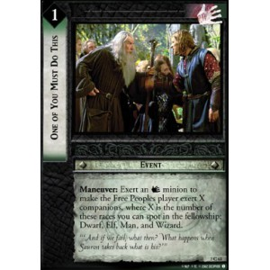 The Lord of the Rings - Realms of the Elf-lords - One of You Must Do This - 3C63
