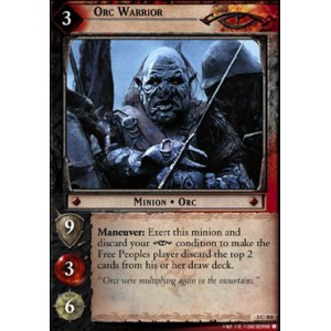 The Lord of the Rings - Realms of the Elf-lords - Orc Warrior - 3C101
