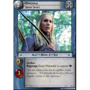 The Lord of the Rings - Realms of the Elf-lords - Dinendal, Silent Scout - 3U12 - Version Brillante/FOIL