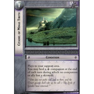 The Lord of the Rings - Realms of the Elf-lords - Citadel of Minas Tirith - 3R40 - Version Brillante/FOIL