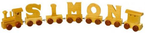 Petit train de lettres